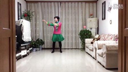 风中梅花广场舞系列:竹排情歌