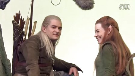 The Hobbit:The Battle of the Five Armies B-ROLL 2  - Orlando Bloom