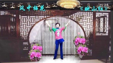 风中梅花广场舞系列: DJ映山红       制作:原来老师