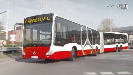 2015 梅赛德斯-奔驰CapaCity L BUS 官方宣传片公路唯美驾驶展示