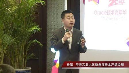 2014Oracle技术嘉年华·杨超《构建由内而外的数据库安全防御体系》