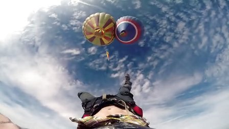 GoPro:Daredevil Andy Lew 的惊险空中行走