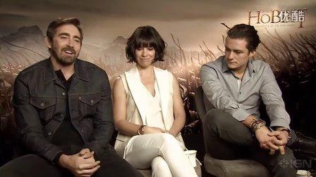霍比特人3宣传IGN全员采访:演员最喜欢的电影场景