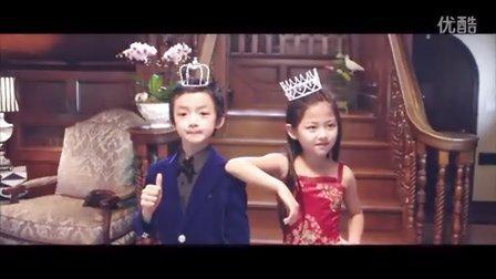 加拿大漂亮可爱的钢琴小公主和小王子组合,经典视频,值得收藏!