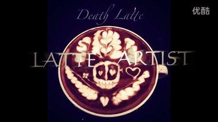 世界级咖啡拉花作品/LeeO/中国拿铁艺术家咖啡研究社