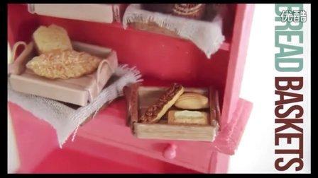 【Elegant Touch雅致格调】软陶食物模型木篮和面包篮教程制作 惊呆小伙伴