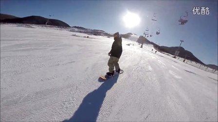 单板滑雪 渔阳  gopro hero 3+ 随录