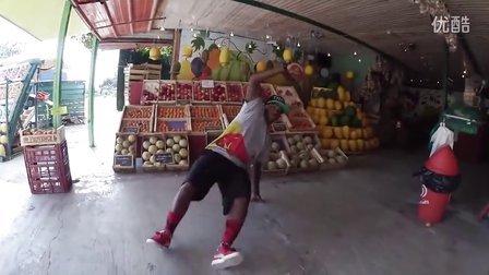 【粉红豹】bboy lilou坐红牛街舞大赛观光车旅游行纪录(2)