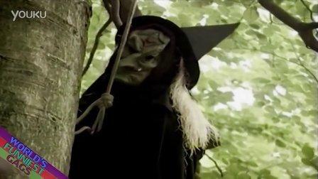 【粉红豹】公园里,树上突然飞出一只吸血鬼,吓死路人~!