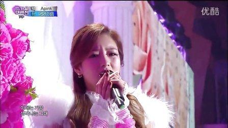 【A】141231 MBC歌谣大祭典. Apink 最新舞台 Luv&Mr.Chu