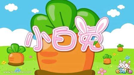 兔小贝系列儿歌 040小白兔(新
