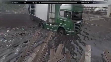 【Gache】【斯堪尼亚重卡驾驶模拟】洪水滔天
