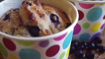 蓝莓全麦玛芬Whole Wheat BLueberry Muffin--Bake Some LOve