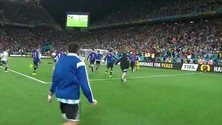 2014年巴西世界杯半决赛 阿根廷VS荷兰 加时赛+点球大战