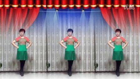 风中梅花广场舞 《欢腾的草原 》   兴梅编舞    原来老师制作