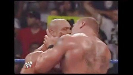 WWE场上最雷人的一幕 Kurt Angle 科特·安格 现场搞基