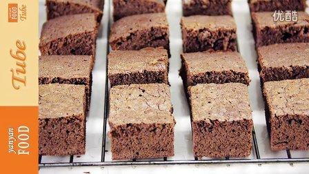 yanyanfoodtube 2015 巧克力布朗尼蛋糕 63