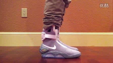 回到未来 Nike Air Mag 上脚欣赏