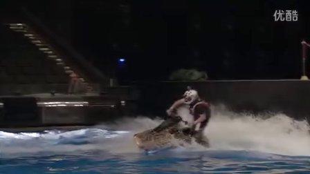 《汉秀》飞行板、摩托艇表演特辑
