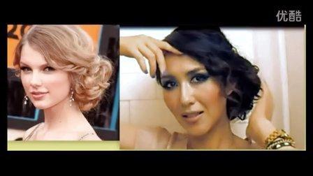 【Elegant Touch雅致格调】法式可爱高髻舞会发型美发教程 扎头发教程