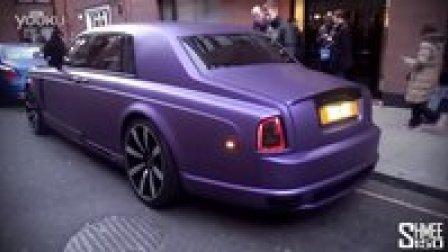闷骚紫 曼索里改装劳斯莱斯幻影 Mansory Rolls-Royce Phantom