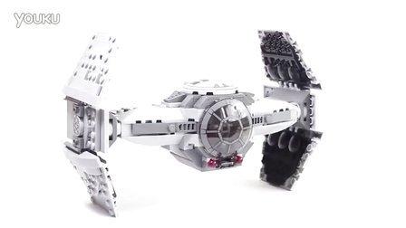 乐高/Lego Star Wars 75082 TIE Advanced Prototype - Lego Speed Build
