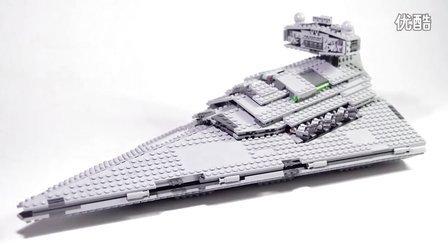 乐高/Lego Star Wars 75055 Imperial Star Destroyer - Lego Speed Build