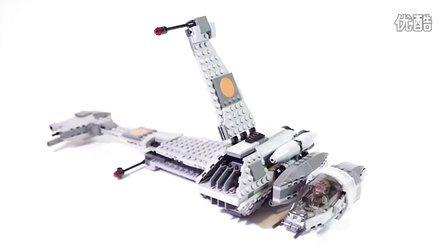 乐高/Lego Star Wars 75050 B-Wing - Lego Speed Build
