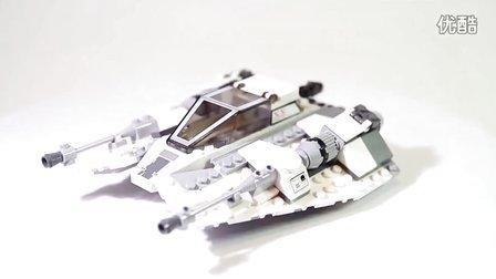 乐高/Lego Star Wars 75049 Snowspeeder - Lego Speed Build