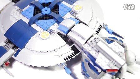 乐高/Lego Star Wars 75042 Droid Gunship Build and review