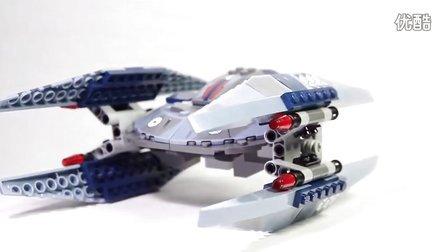 乐高/Lego Star Wars 75041 Vulture Droid Build and review