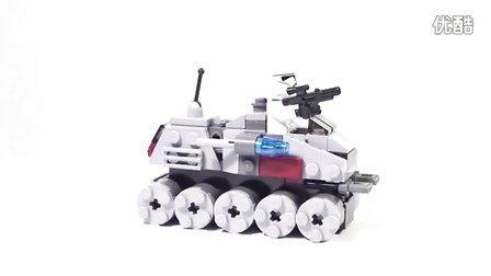 乐高/Lego Star Wars 75028 Clone Turbo Tank - Lego Speed Build