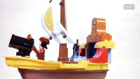 乐高/Lego Duplo 10514 Jake's Pirate Ship Bucky build video