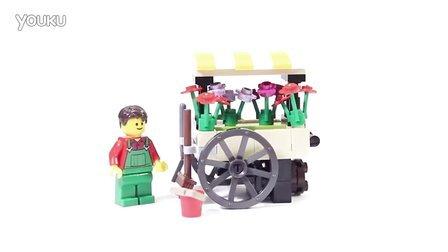 乐高/Lego Creator 40140 Flower Cart - Lego Speed Build
