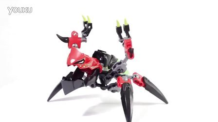 乐高/Lego Hero Factory 44024 TUNNELER Beast vs. SURGE - Speed Build