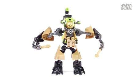 乐高/Lego Hero Factory 44023 ROCKA Crawler - Speed Build