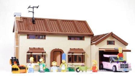 乐高/Lego The Simpsons House 71006 build and review