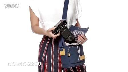 NG MC 2250国家地理地中海系列中型时尚单肩包