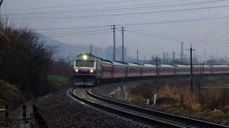 火车视频集锦:宁芜铁路跨年视频