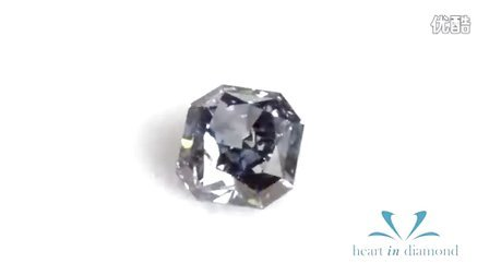 英国恒远钻石(心音钻石) Heart In Diamond  蓝色雷迪恩形切工 Blue Heart In Diamond Radiant Cut