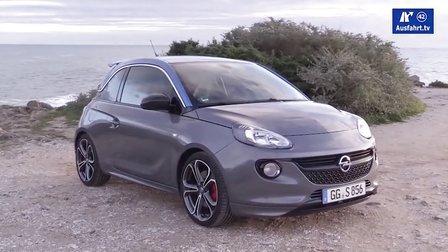 2015 全新欧宝Adam S 掀背小型车 德国媒体试驾评测展示