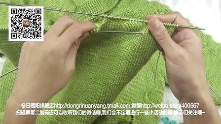 76集-绿色小动物帽衫第三集零基础编织视频教学娟娟编织编织款式大全