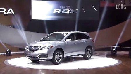 2016该款讴歌Acura RDX 芝加哥车展发布会