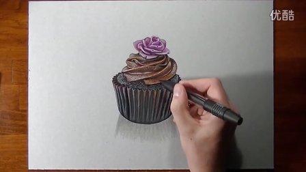 牛人教你如何画一个蛋糕 - by Marcello Barenghi