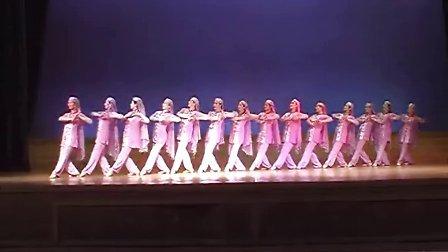 回族舞蹈《手镯碰出花儿情》编导王青(5分钟版)