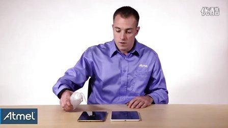 Atmel: maXTouch的卓越防潮触摸功能演示
