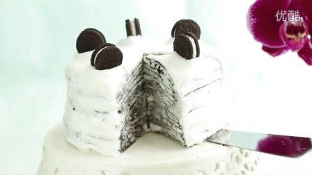 [Eugenie Kitchen 유키] 奥利奥奶油千层蛋糕 - Oreo Mille Crepe Cake