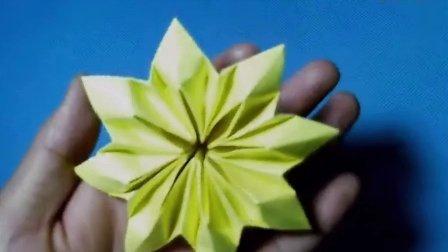 折纸王子教你折八瓣花之小黄花(下)会员专享视频