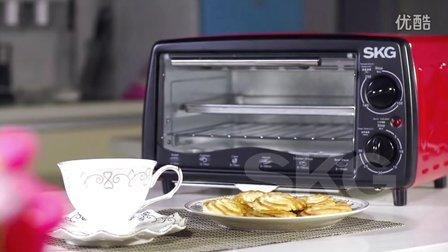 SKG电器之电烤箱KX1701曲奇饼制作食谱