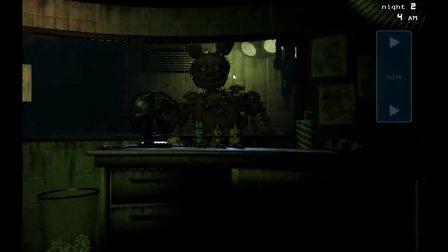 【树林勇士】玩具熊五夜后宫3恐怖体验 幽灵杀手的偷袭